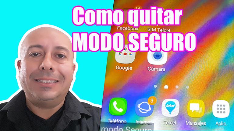 Como quitar el modo seguro de mi celular Samsung J2